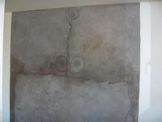 Indigo Mur ChauxBndicte Gombert
